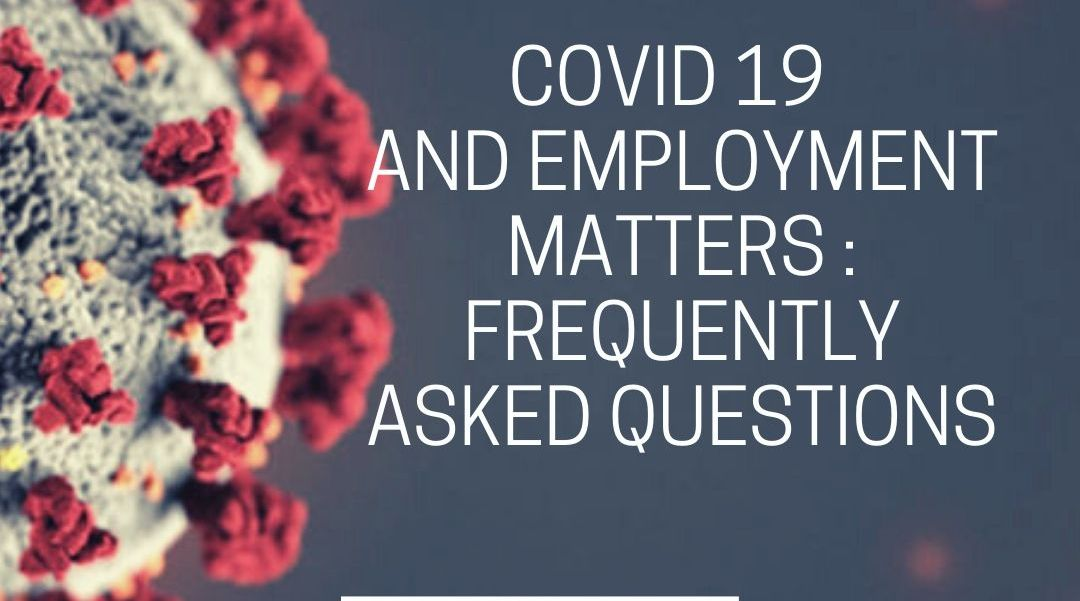 COVID 19 AND EMPLOYMENT MATTERS IN NIGERIA_ FREQUENTLY ASKED QUESTION
