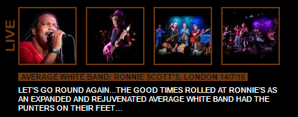 AWB Gig Review Ronnie Scotts London