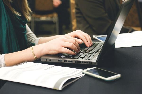 laptop typing working
