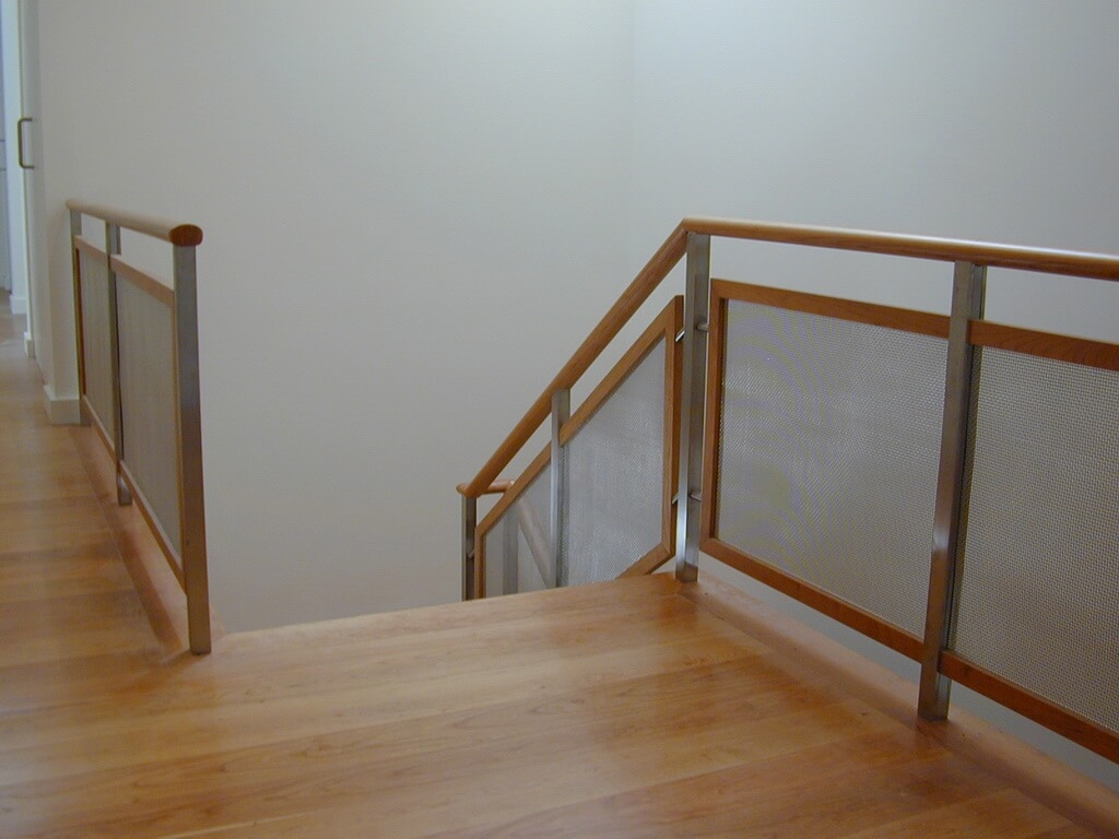 Custom Stainless Steel Stair Railings | Stair Railing Wood And Steel | Tall Stair | Spiral Stair | Easy Stair | Office Interior Stair | Different Staircase