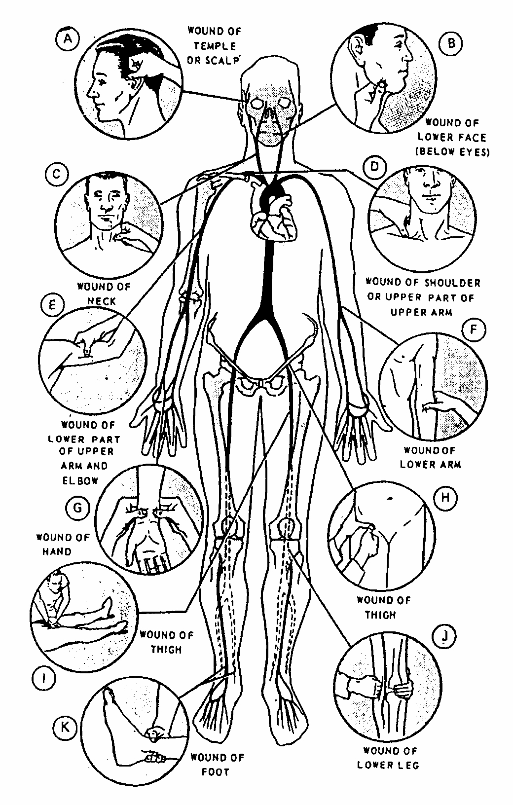 Figure 2 10 Locations Of Pressure Points