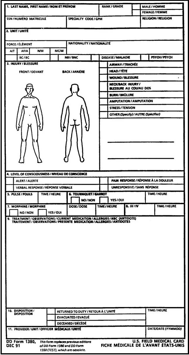 Filled Out Dd Form 2813
