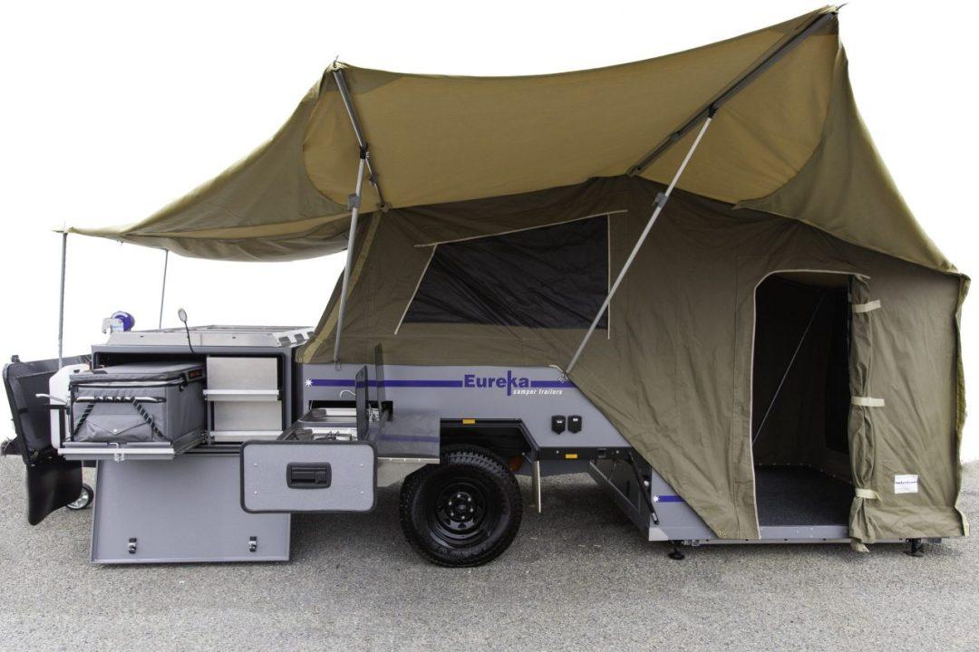 Eureka Camper setup with annexe