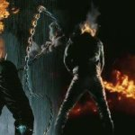 Ghost Rider Pisses Fire!