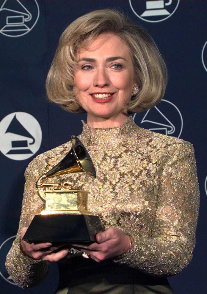 Hillary Clinton Surprise Grammy Awards Appearance