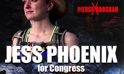 Jess Phoenix is Not Pierce Brosnan