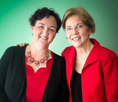 Katie Porter and Elizabeth Warren