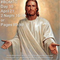 """#BOMTC Day 15, April 21~2 Nephi 15-19 or Pages 85-90: """"His Hand Is Stretched Out Still"""""""