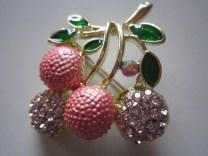 Bros Murah Motif Cheery Manis Pink