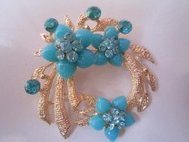 bros manik bunga ateyo-biru