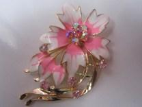 Bros Manik Cantik Bunga Anggrek-Pink