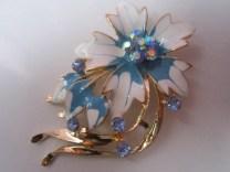 Bros Manik Cantik Bunga Anggrek-Biru