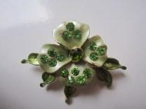 Bros Manik Cantik Bunga Jasmine Hijau