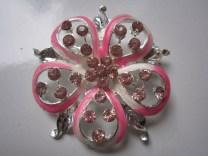 Bros Grosir Cantik Bunga Permata Pink