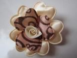 Bros Kain Cantik Bunga Amora-Cream