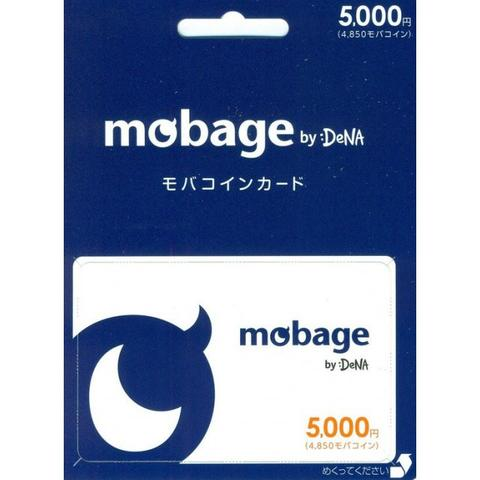 Mobage Prepaid Card 5000 (4850) Poin