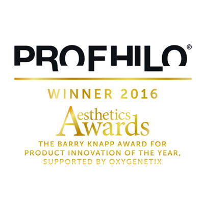 Profhilo logo award winning