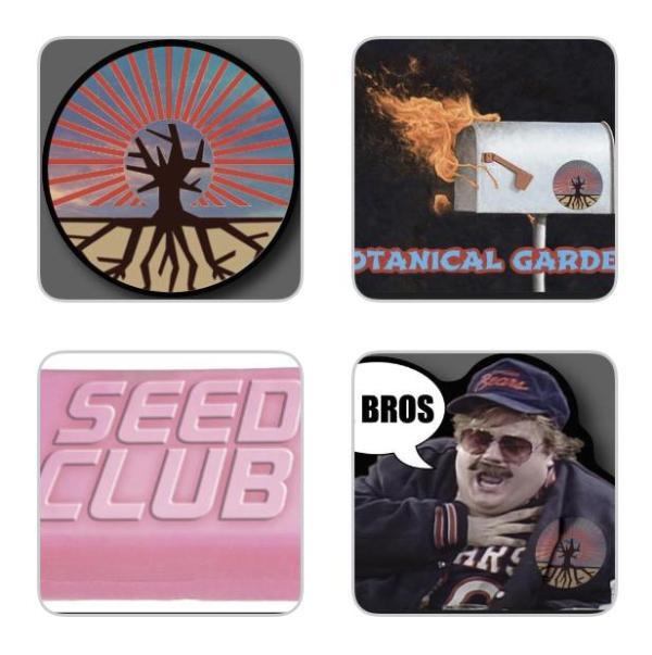 Brotanical Gardens - Sticker Pack