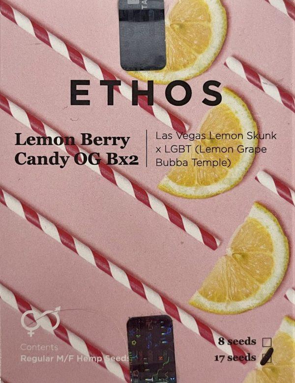 Ethos - Lemon Berry Candy OG Bx2