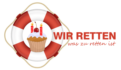 Wir retten Logo 2 Geburtstag