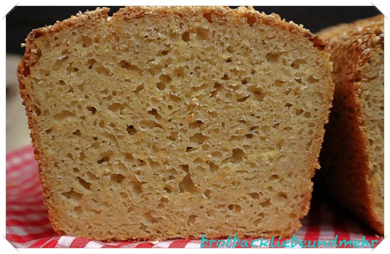 Foto 3 - Glutenfreies Buttermilch-Flockenbrot - Anschnitt