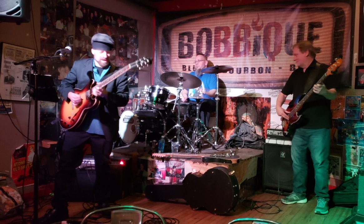 Brother Dave & The Brave with Casual T on Drums and Mike Leslie on Bass