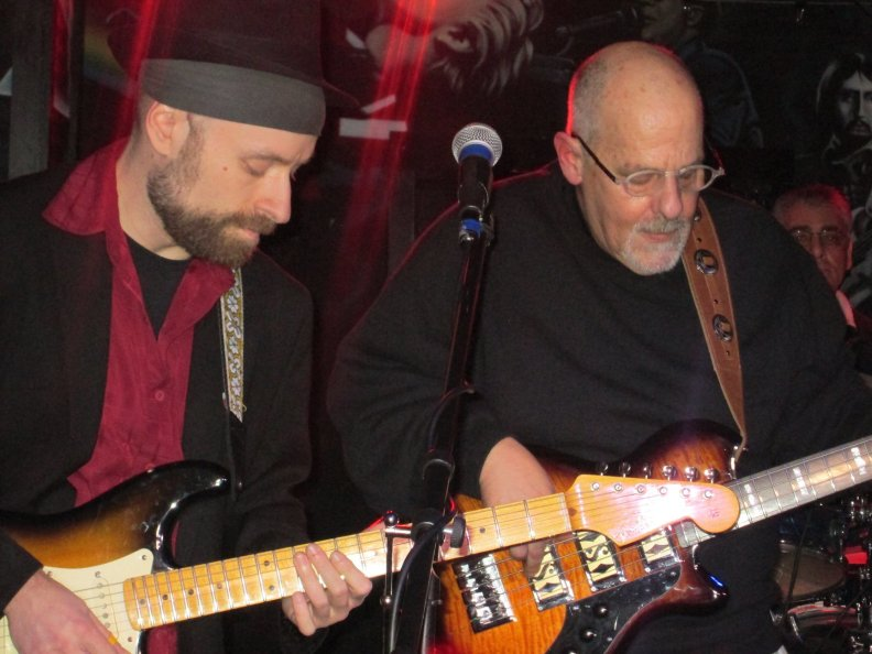 with Lester Saldinger on Bass
