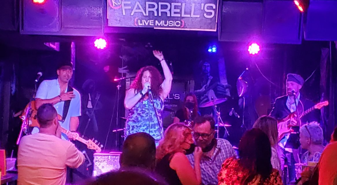 with Sweet Suzi and Sly Geralds on Bass at KJ Farrells
