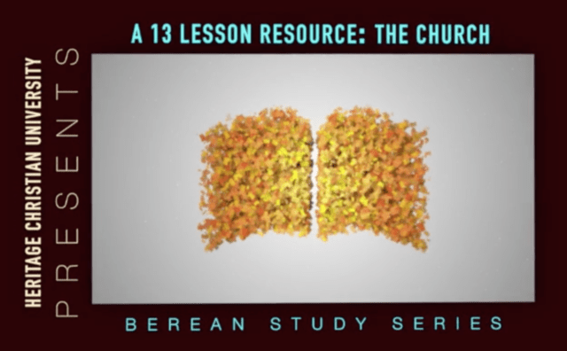 HCU launches study series with 13 videos about 'The Church'