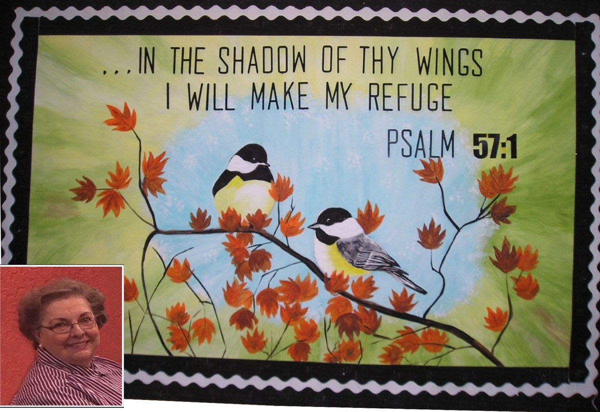 Artist paints church bulletin boards to teach