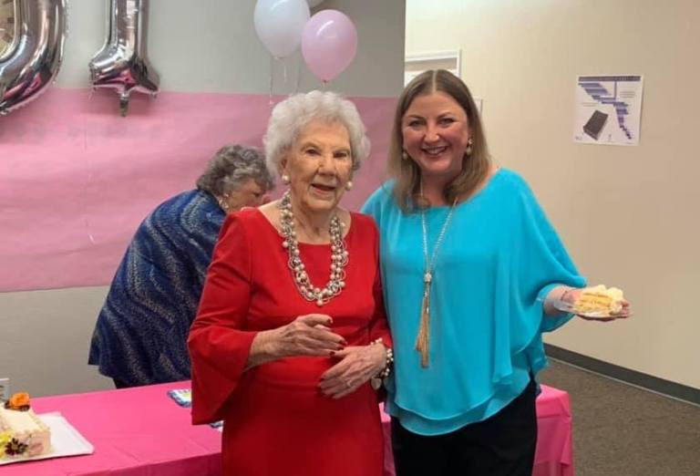 WWII 'Rosie the Riveter' worker and sister in Christ turns 101