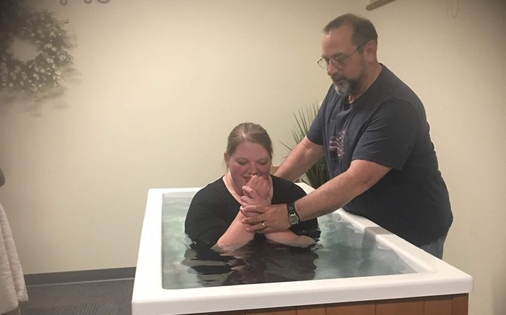 Four baptized in Castleton, Vermont, so far this year