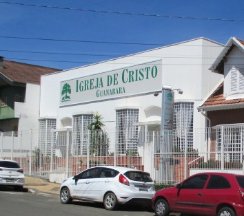 Front of building where Guanabara church meets