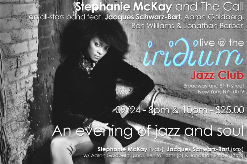 Stephanie McKay @ Iridium