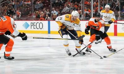 Nashville Predators Philadelphia Flyers