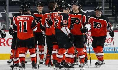 Bruins vs Flyers