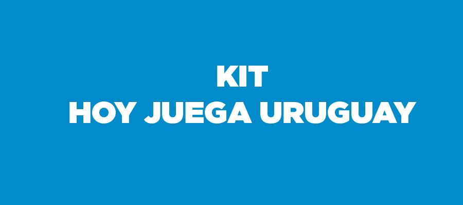 Kit de respuesta Hoy juega Uruguay