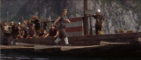 Image result for the vikings movie 1958 walking the oars