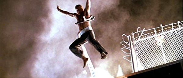Image result for bruce willis jumping off building in die hard
