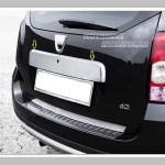 "RENAULT Duster ""11-Накладка над номером на крышку багажника, нерж."
