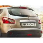Накладка на крышку багажника Nissan Qashqai/+2 (2007-)
