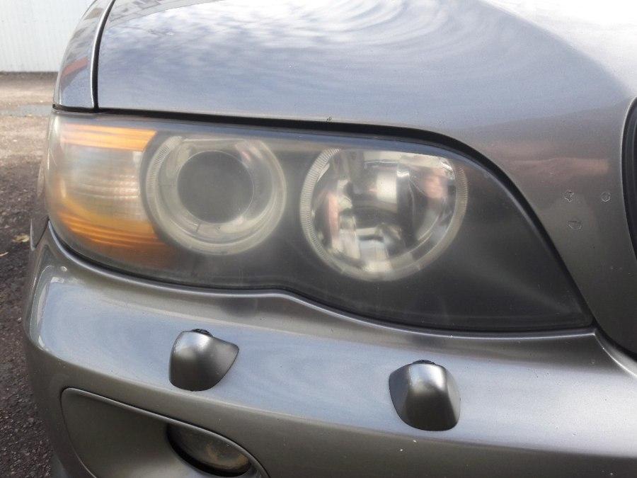 Восстановление оптики BMW X5 начало