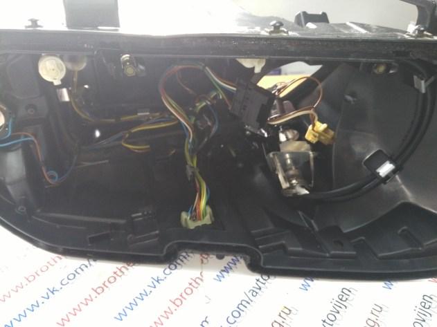 Вскрытие фар по канту без резки корпуса BMW X5