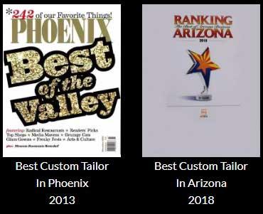Best Tailor 2013 & 2018
