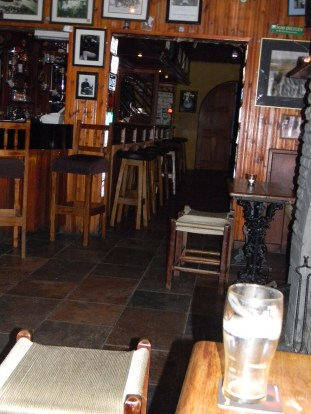 A nice place to set a spell. Gus O'Connor's Pub in Doolin, Ireland.