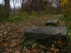 Foskett Grave Stone - Bachelor's Grove Cemetery