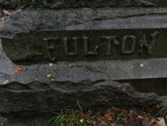 Fulton Family Stone - Bachelor's Grove Cemetery
