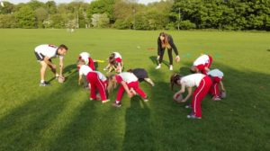 Rainbows sports evening