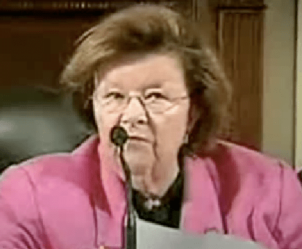 Click on image to see video of Sen. Mikulski as she answers questions from Sens. Hatch and Casey about her amendment.