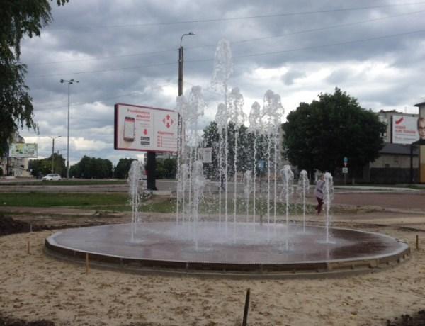 Плани на фонтани: два нових та реконструкція старого